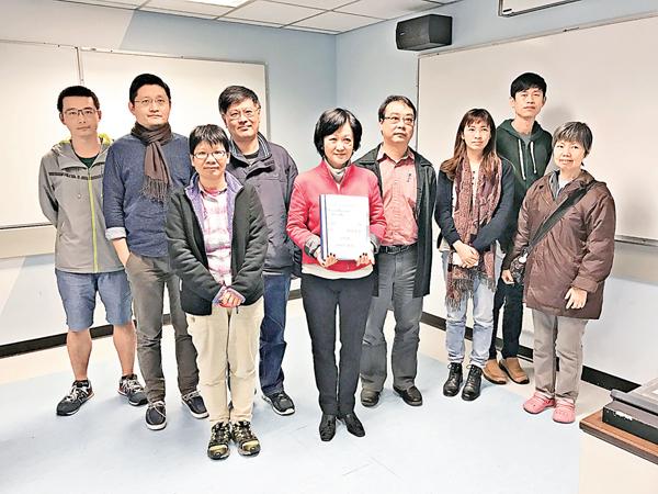 ■葉劉淑儀與「民間長遠社會發展運動」會面。