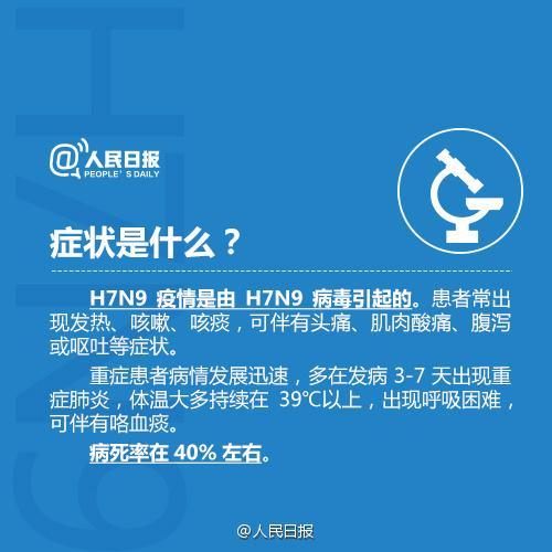 H7N9禽流感进入高发期 全国已有87人死亡
