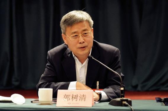 郭树清接任银监会主席:很高兴回到金融系统