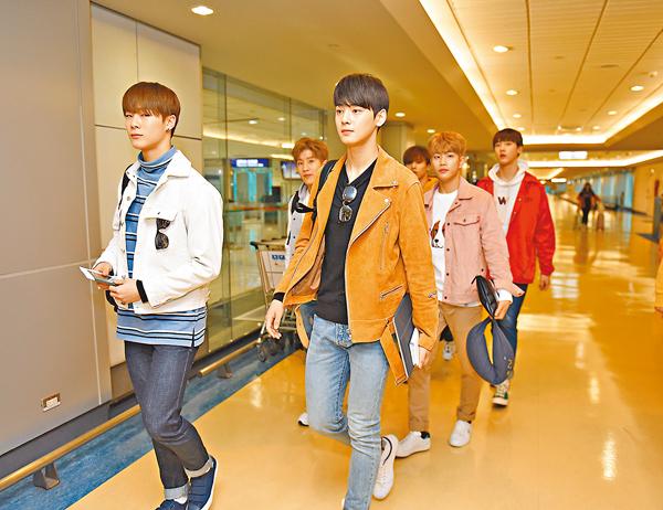 ■韓國新生代男團「ASTRO」。中央社