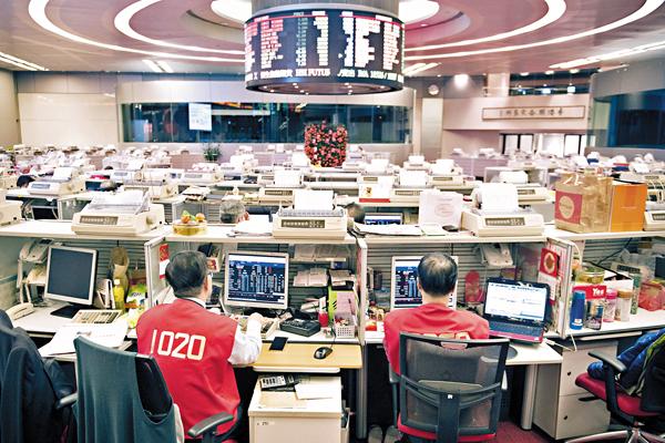 ■港股自今年來已升至一年半高位,不少投資者憂慮將於3月轉勢。 資料圖片