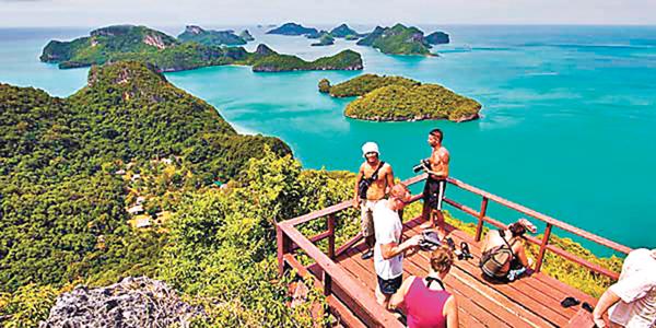 ■說一個地方能讓人放鬆,最好提供理據,文章才有說服力。圖為泰國紅統群島國家公園。網上圖片