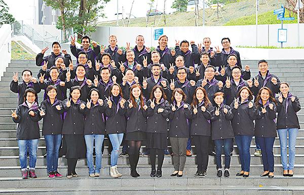 ■Kellogg-科大EMBA課程,獲QS評為全球之冠。圖為該課程來自世界各地的學員。科大供圖