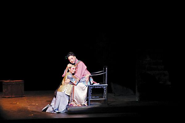 ■《徽州女人》演出劇照。