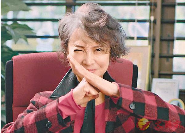 ■蕭芳芳抱拳致敬林太,讚其「盡顯英雄本色」。 短片截圖