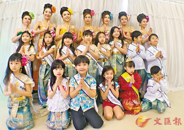 ■今年會有11名小朋友及7名成人參加「Water Angel」比賽。楊佩韻 攝
