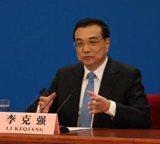 李克強:中國經濟「硬�茬陛v論可以休矣