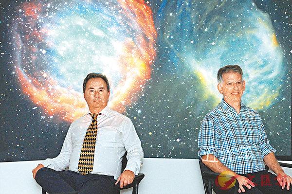 ■由於選修人數持續偏低,港大有意取消本科理學士的天文學主修。圖為發明「行星狀星雲」測量法的港大學者。 資料圖片