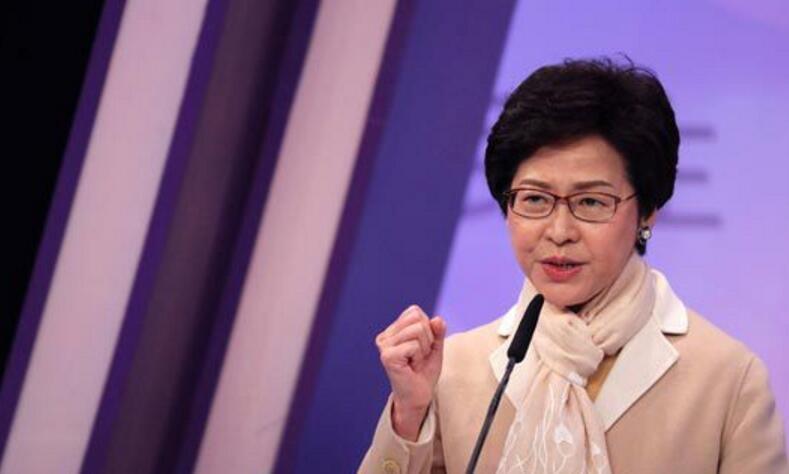本港多個民意調查顯示,行政長官選舉候選人林鄭月娥支持度已超越曾俊華。資料圖