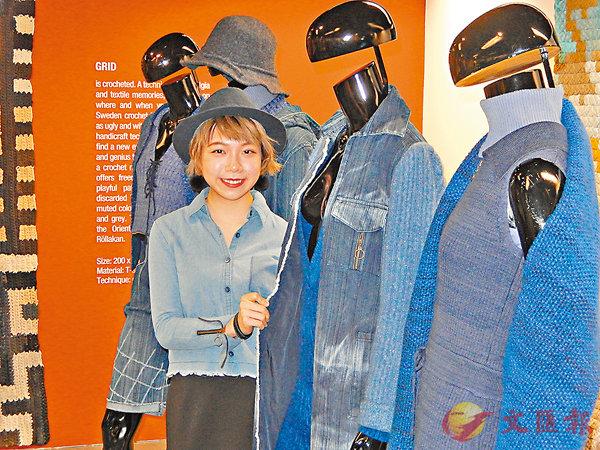 ■林子殷感謝計劃資助了比賽成本,讓她獲得在會展「行show」的寶貴經驗。 姜嘉軒  攝