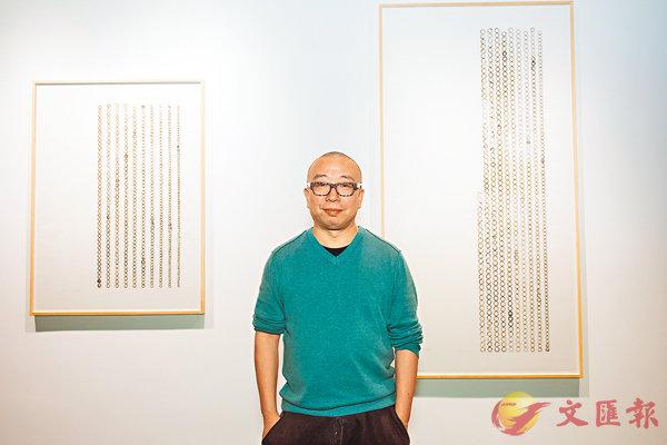 ■「留痕」系列作品是蕭昱近兩年在個人創作上一個全新的探索