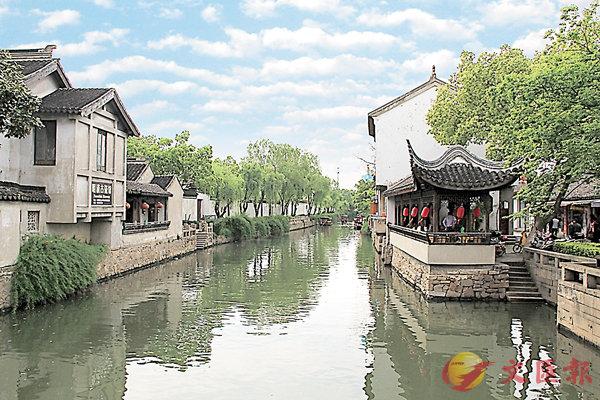 ■木瀆古鎮今昔面貌各不同。 網上圖片