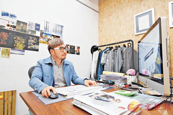 ■姚俊傑在去年獲得十大傑出室內設計殊榮。