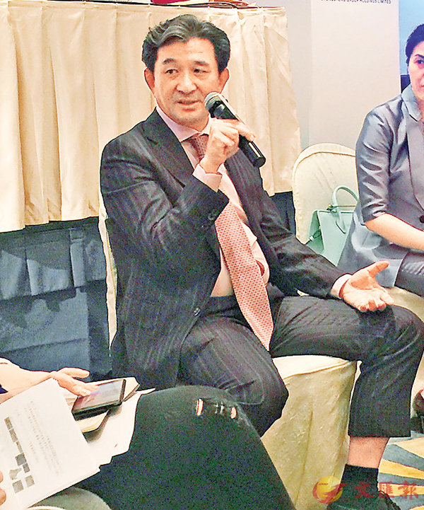 ■中升集團主席兼執行董事黃毅。 記者吳婉玲  攝