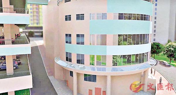 ■田灣商場將改建為國際學校。圖為Nord Anglia International School改建商場成學校後的模擬動畫。 校網影片截圖