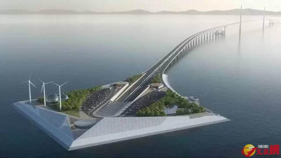 深中通道超港珠澳大桥 问鼎 全球最高海中大桥