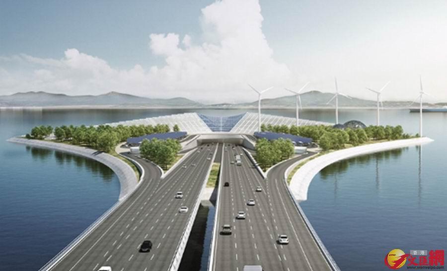 深中通道超港珠澳大桥问鼎 全球最高海中大桥 香港文汇网