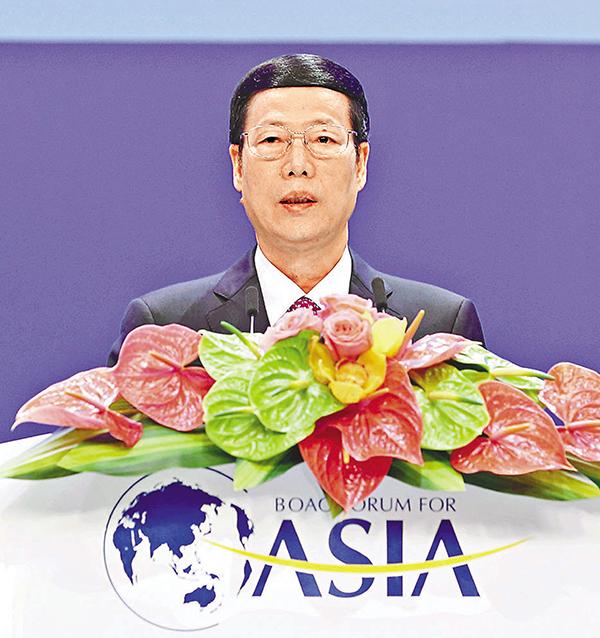 ■張高麗表示,要讓中國市場更加透明、更加規範、更有吸引力。新華社