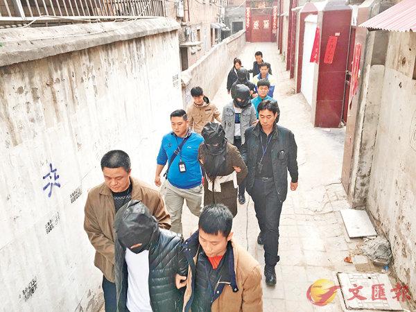粵跨省搗電騙收網拘逾450人 (圖)