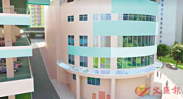 ■田灣商場將改建為國際學校。 資料圖片