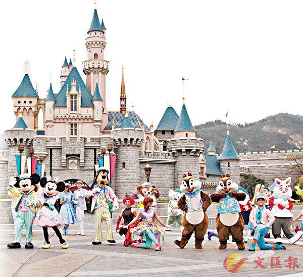 ■迪士尼增注資3.5億,同意與政府各付一半擴建費用。 資料圖片