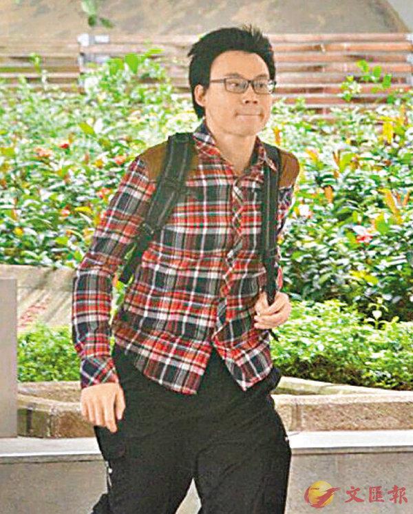 ■「熱狗」成員陳柏洋昨日到高院聽取上訴判決。