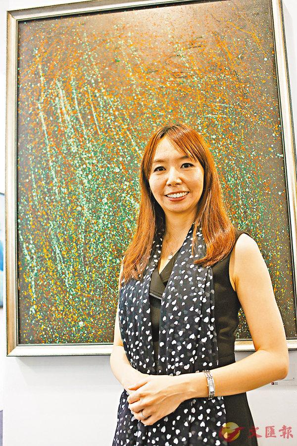 ■宛儒畫廊總監謝宛儒表示很榮幸能參與是次的Art Central。