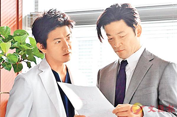 ■木村拓哉在劇中與淺野忠信鬥演技。