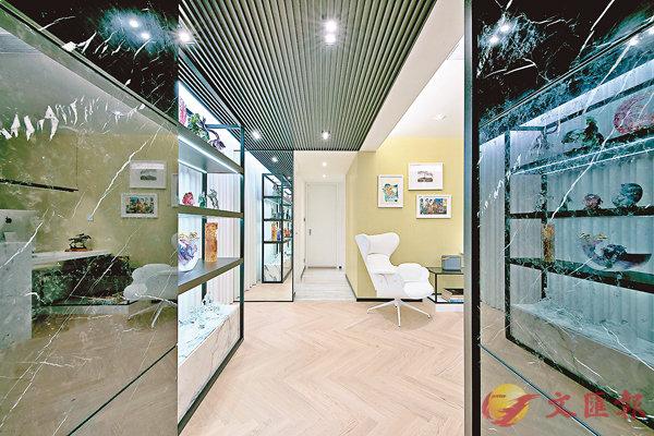 ■設計師把原本長長的走廊改短,避免房間顯得單調。