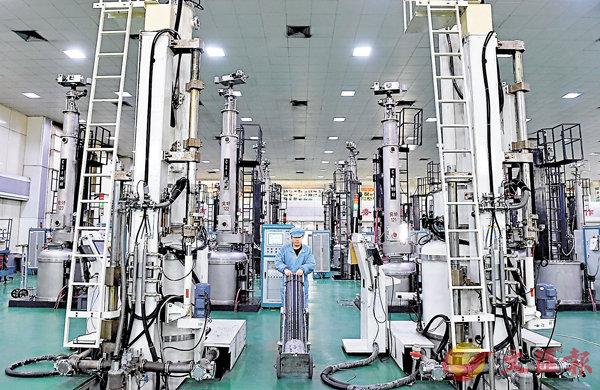 製造業PMI創5年新高  二季經濟向好 (圖)