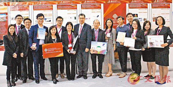 ■理大代表團參與在瑞士日內瓦舉行的國際發明展。