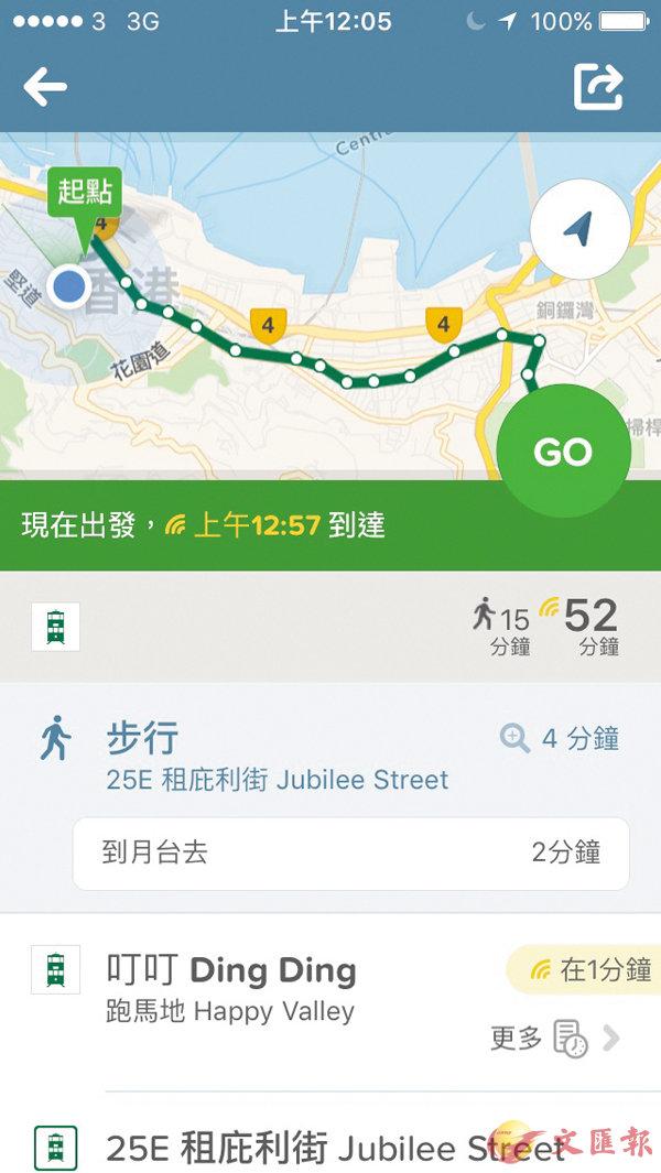■Citymapper提供即時交通資訊,只要輸入目的地,系統便會提供點對點路程建議。資料圖片