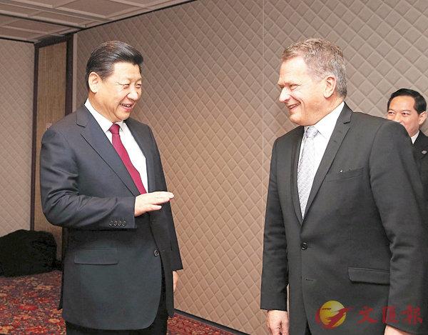 習近平:中國值得歐洲信賴 (圖)