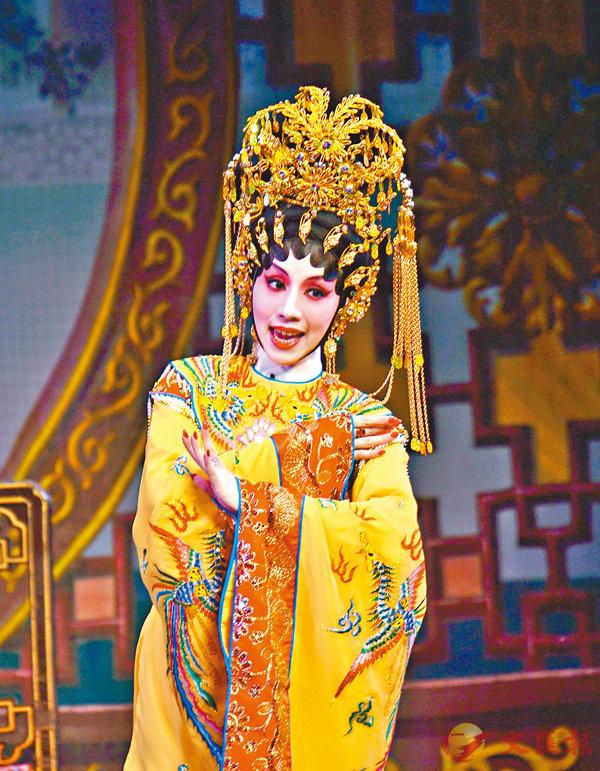 ■謝曉瑩演女中豪傑紅拂女。