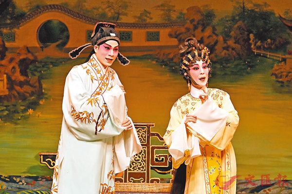 ■藍天佑和鄭雅琪分飾方耀祖和唐玉笙。