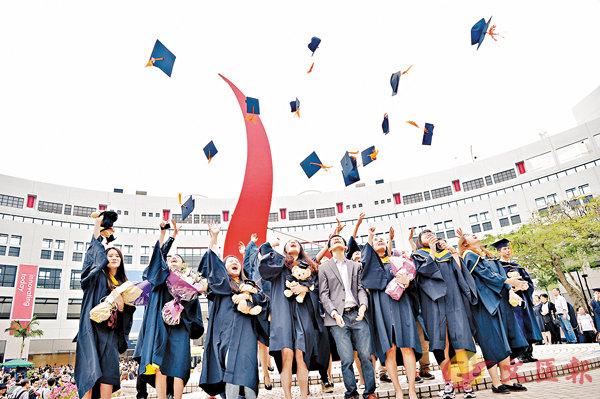 ■科大在THE年輕大學排名榜中名列第二。 資料圖片