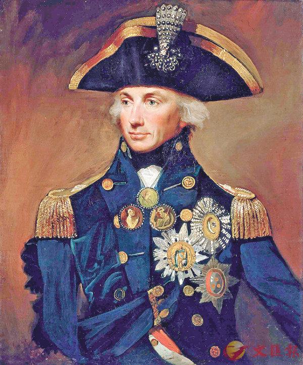 ■英國海軍名將納爾遜在戰場上故意用看不見的右眼來看命令,成為英語中視而不見的諺語。 網上圖片
