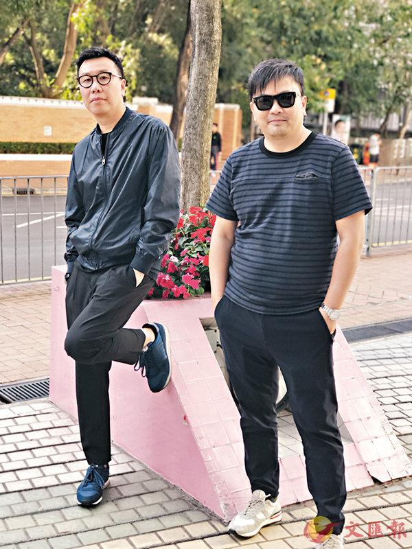 ■潘耀明(左)、麥兆輝(右)繼《竊聽風雲》系列後再度合作。