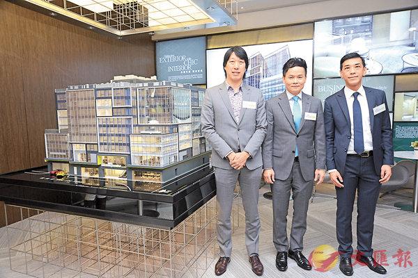 ■�琣a旗下活化工廈改裝成商廈的項目九龍灣創豪坊,上月推出拆售反應熱烈。 資料圖片