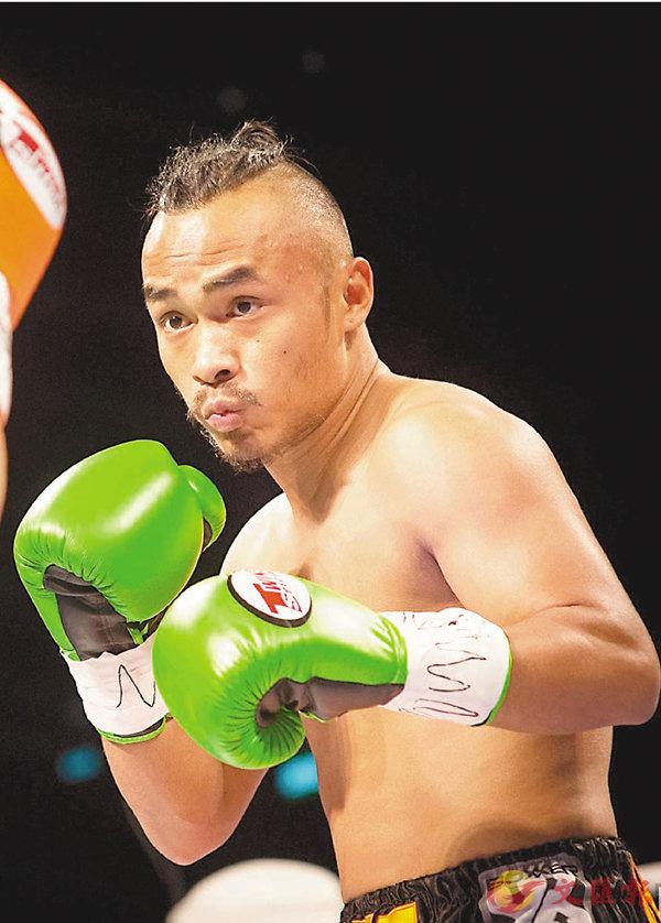 ■Sures Gurung參加拳擊比賽。受訪者供圖