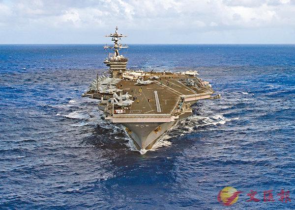 美襲敘「第二炮」  航母群懾朝鮮 (圖)