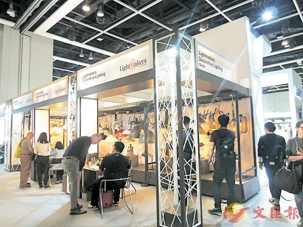 ■第九屆香港國際春季燈飾展會場。 張美婷  攝