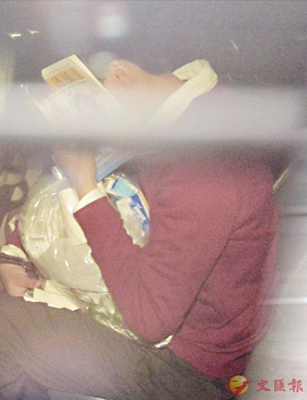 ■楊家倫參與暴動及縱火被判囚4年9個月,由囚車載返監獄服刑。