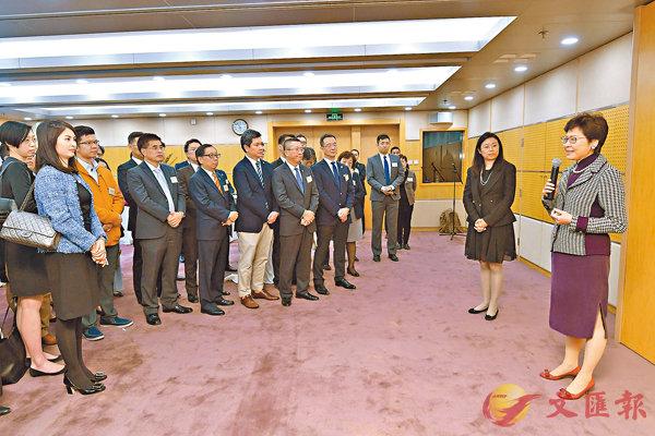 ■候任行政長官林鄭月娥昨日向在北京工作、經商和就學的港人致辭並總結訪京行程。