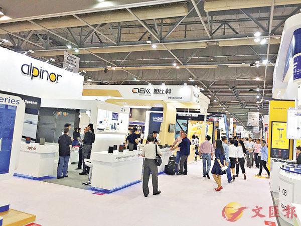 ■環球資源電子展昨於亞洲國際博覽館揭幕。吳婉玲攝