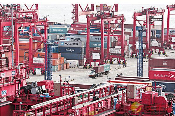 首季中國對美貿易順差增6.7% (圖)
