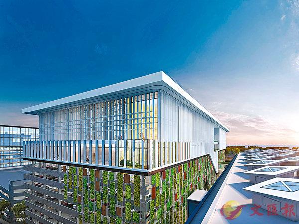 ■未來香港國際航空學院的構想圖。 機管局圖片