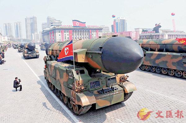 升空4秒爆炸  重創朝新導彈研發 (圖)