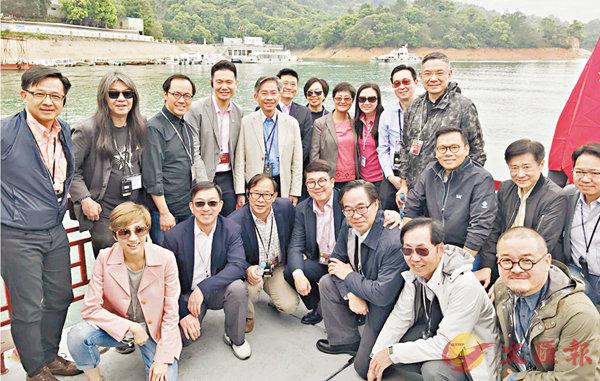 ■立法會發展事務委員會成員進行為期兩天的東江水考察之旅。陳恒鑌議員供圖