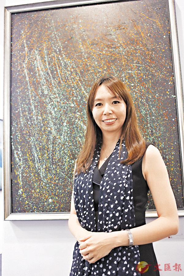 ■宛儒畫廊總監謝宛儒帶同三位藝術家來港參加Art Central展覽。
